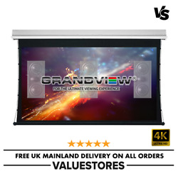 Grandview 106 Electric Tab Tension Acoustic Projector Screen 169 Ir Remote