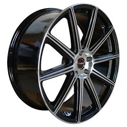 4 G42 20 Inch Black Rims Fits Chevy S10 4wd Zr2 2000 - 2002