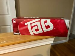 12 Pack Of Tab Cola Soda Pop 12oz Cans New In Hand Unopened Freeship