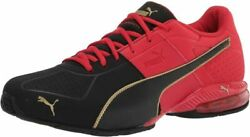 Menand039s Cell Surin 2 Sneaker 10 Black-high Risk Red-gold