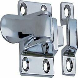 Replacement Cabinet Cupboard Door Catch With Spacer Marine Boat Chrome Plated