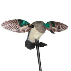 Outdoor Mini Mallard Feeder Decoy Remote Control Spinning Wings Duck Hunting
