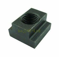 5pcs T-slot Nut T Slot Nuts Clamping M10 Black Oxide For Table Slot Milling New