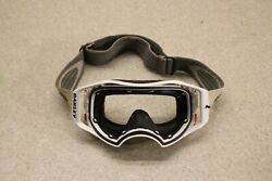 Oakley White Airbrake Air Brake Motocross Goggle MX Off Road Dirt Bike 4206 $69.11