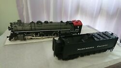 Wandr Brass Northern Pacific A-5 4-8-4 Steam Locomotive And Tender Passenger Gray