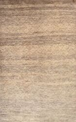 Hand-knotted Rug Carpet 4'1x6'7, Gabeh Mint Condition