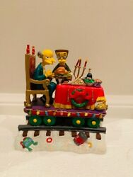 A Feast For One - The Simpsons Christmas Express Train Collection