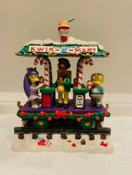 Have A Squishee Christmas - The Simpsons Christmas Express Train Collection