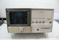 Hp 70340a Signal Generator And Hp 7000a Display 1-20 Ghz Call'd With Cert 1e1