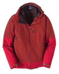 300 Mens Unisex Mixmaster Soft Shell Jacket Coat Red Rio With Tags Xs