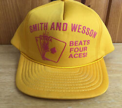 Vintage Smith And Wesson Beats 4 Aces Snap Back Hat Mohrs