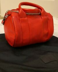 Brand New Authentic Alexander Wang Rocco Red Bag $275.00