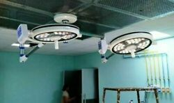Double Satellite Led Operation Theater Lights Surgical Operating Lamp Dual Color