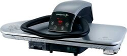 Steam Ironing Press Heavy Duty 91hd-s Silver + Free Iron/filter/cover/foam
