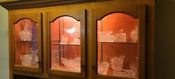 Huge Lot 45 Pieces Vintage Hofbaver Byrdies Collection Crystal Nice Collection