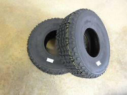 Two 24x9-10 Air-loc X-trail Tires 8 Ply Replaces Dunlop Kt869 24x9.00-10 Mule