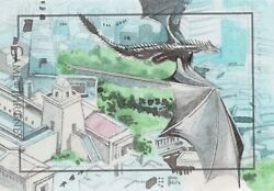 Game Of Thrones Complete Series Sketch Card 1/1