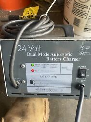 Lester 24 Volt Dual Mode Automatic Electric Wheelchair Battery Charger 18330