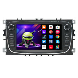 Android 10.0 Bt Autoradio Dvd Gps Sat Navi For Ford Fusion Focus Mondeo Connect