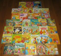 Huge The Berenstain Bears Jan And Mike Childrens Picture/story/chapter 38 Book Lot