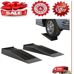 Ramps Low Profile Plastic Car Service Ramps 2 Pack New Mode Free Shipping