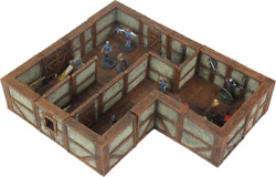 16515 Warlock Tiles Town And Village Ii Full Height Plaster Walls Expansion Dandd