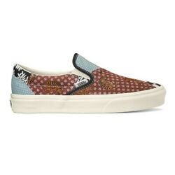 Tiger Patchwork Classic Slip-on Lifestyle Shoes Vn0a4u381io1 Sz4-12