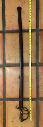 C. 1840 Spanish Export Cavalry Officer Sword, Stamped J. B.s. Above B And Scabbard