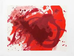 Kazuo Shiraga Passionate Winner Screenprint Signed And Numbered In Pencil
