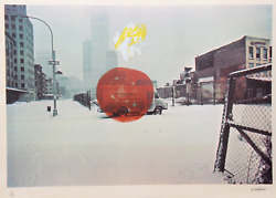Robert Whitman, Untitled, Lithograph, Signed And Numbered In Pencil