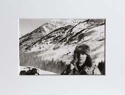 Christopher Makos In Aspen Gelatin Silver Print Signed Stamped And Numbered