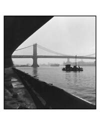 Robert Gambee East River Patterns Gelatin Silver Print Signed And Numbered In