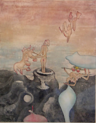 Roberto Matta, Cosi Fan Tutte - Planche 6 229, Etching With Aquatint, Signed A