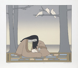 Will Barnet, Paean, Screenprint On Arches, Signed In Pencil