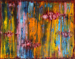 Audrey Keeperman Byo30 - 2417 Oil And Varnish On Canvas Signed And Titled Ver