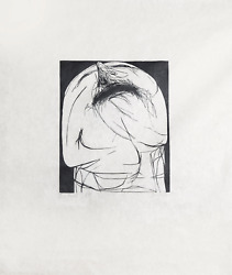 Leonard Baskin, The Shout, Woodcut Print On Rice Paper, Signed And Numbered In P