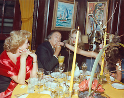 Stanley Einzig Hand Kiss I From Salvador Daliand039s Birthday Party Color Photograp