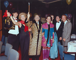 Stanley Einzig Group I From Salvador Daliand039s Birthday Party Color Photograph S