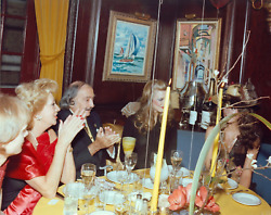 Stanley Einzig Dali Clapping From Salvador Daliand039s Birthday Party Color Photogr
