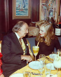 Stanley Einzig Dali And Young Woman Ii From Salvador Daliand039s Birthday Party Col