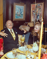 Stanley Einzig Dali Gesturing Ii From Salvador Daliand039s Birthday Party Color Pho