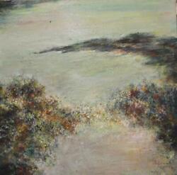 Michael Schreck Exotic Seascape Acrylic On Canvas Signed L.r.