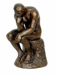Austin Productions, The Thinker, Bronze Sculpture, Signature Inscribed