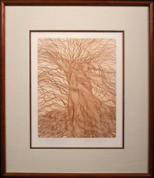Guillaume Azoulay, Alba Tristis, Etching, Signed And Numbered In Pencil