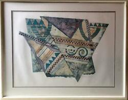 Bill Wheeler, Aeolian Harp 2, Collagraph, Signed And Numbered In Pencil