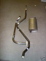 1932 Plymouth 4 Cylinder Exhaust System, 304 Stainless, Pb Models