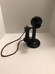 Authentic Western Electric 1920's Candlestick Phone