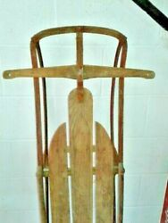 Antique Snow Sled For Christmas Winter Yard Or Porch Decoration Your Chioce
