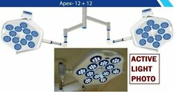 Apex 12+12 Double Dome Examination Surgical Light Or Lamp Operation Theater Cv7s