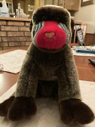 Ty 2001 Cheeks The Baboon Gorilla Beanie Buddy - Good Condition. No Tags